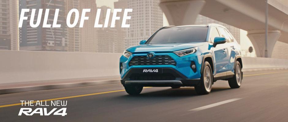 Toyota the all new RAV4